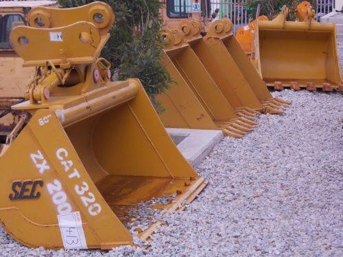 New Excavator Buckets